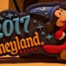 Disneyland Resort 2017 Sorcerer Mickey Mouse Rubber Magnet New