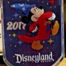 Disneyland Resort 2017 Sorcerer Mickey Mouse Magnet Clip New