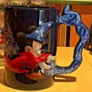 Disneyland Resort Handle 2017 Sorcerer Mickey Mouse Ceramic Coffee Mug Cup New