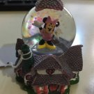 Disney Parks Toontown Minnie Mouse House Resin Snow Globe New