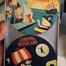 Disney WonderGround Coaster Set Pirates Peter Pan Mr. Toad Dumbo Dave Perillo