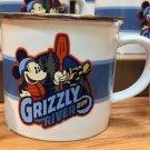 Disney Parks Disney California Adventure Grizzly River Run Mickey Mouse Mug Cup
