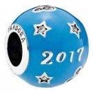 Disney Parks Pandora 2017 Sphere Ball Silver Charm New with Box