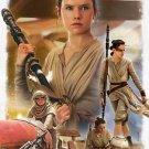 Disney WonderGround Star Wars Rey The Scavenger Deluxe Print Joe Corroney New