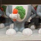 Six Flags Magic Mountain Looney Tunes Bugs Bunny Footed Ceramic Mug New