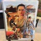 Disney WonderGround Gallery Star Wars Rey The Scavenger Postcard Joe Corroney