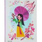 Disney WonderGround Gallery Mulan Canvas Wrap by Joey Chou New