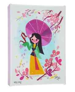 Disney WonderGround Gallery Mulan Canvas Wrap by Joey Chou New