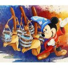 Disney Parks Sorcerer Mickey Mouse Magical March Canvas Wrap by St. Laurent New