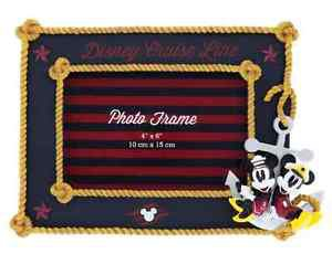 Disney Parks Disney Cruise Line Knots Photo Picture Frame Holds a 4x6 Photo New