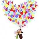 "Disney WonderGround Carl & Ellie ""Up"" Love Adventure Postcard by Nidhi Chanani"