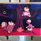Disney WonderGround Gallery Alice's Cheshire Cat Postcard by Jackie Huang New