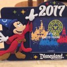Disneyland Resort 2017 Sorcerer Mickey Mouse Magnetic Photo Frame New