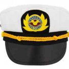 Disney Cruise Line Captain Hat Adult Size Mickey DCL Patch New