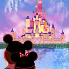Disney WonderGround Our Happy Place Disney Castle Postcard by Nidhi Chanani New