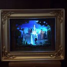 Disneyland 60th Diamond Celebration Gallery of Light Sleeping Beauty's Castle