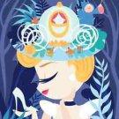 Disney WonderGround Gallery Cinderella Deluxe Matted Print by Fenway Fan New