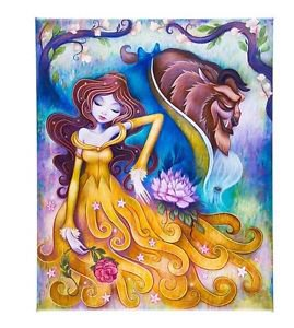 Disney WonderGround Beauty & The Beast Gentle Companion Canvas Print Jeremiah Ketner