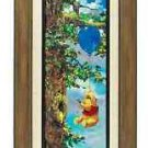 Disney Parks Weenie The Pooh Up In The Air Giclee by Coleman New