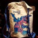 Disneyland Resort Dated 2017 Sorcerer Mickey Mouse Cinch Sack Backpack New