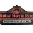 DISNEY PARKS WALT DISNEY WORLD HOLLYWOOD STUDIOS THE GREAT MOVIE RIDE SIGN NEW