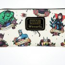 Disney Parks Marvel's Avengers Zipper Wallet by Loungefly New