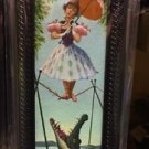 Disney Parks The Haunted Mansion Stretch Room Tightrope Girl Mini Canvas Frame