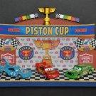 Disney Parks Pixar Cars Piston Cup Stage Figure by Robert Olszewski New