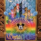 Disney Parks DCA World Of Color Metal / Acrylic Magnet New With Tags