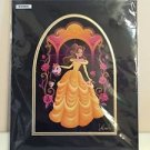 Disney WonderGround Gallery Beauty and The Beast Bell SIGNED Print Jeff Granito