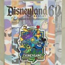 Disneyland 60th Diamond Celebration 1995 Decades Collection Poster Art Pin New