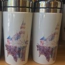 Disneyland Resort 2017 Sleeping Beauty's Castle Travel Mug New