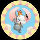 Disney WonderGround Gallery The Great Dumbo Postcard by Kristin Tercek NEW