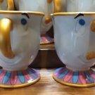 Disney Parks Beauty & the Beast Ceramic Chip Tea Cup NEW