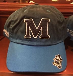 Disneyland Resort Big M Iconic Mickey Mouse Baseball Hat Cap New with Tags