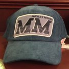 Disney Parks Mickey Mouse Double MM Baseball Hat Cap New with Tags