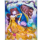 Disney WonderGround Beauty & The Beast Gentle Companion Canvas Wrap New in Box