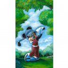 Disney Parks Golf Mickey Mouse Deluxe Print by Brian Blackmore New