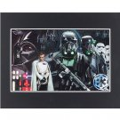 """Disney Parks Stars Wars Rogue One Empire Deluxe Print 20""""x16"""" New"""