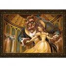 Disney Parks Beauty and The Beast Ballroom Beauty Framed Canvas Darren Wilson