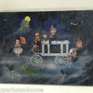 Disney WonderGround Haunted Mansion Portrait Procession Postcard by John Coulter