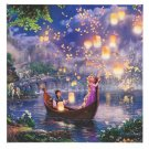 Disney Parks Tangled Rapunzel Canvas Wrap by Thomas Kinkade New