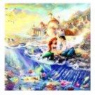 Disney Parks Little Mermaid Prince Eric & Ariel Canvas Wrap by Thomas Kinkade