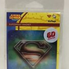 Six Flags Magic Mountain Lenticular 6-D Superman Shield Magnet New and Sealed