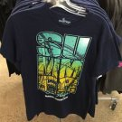 Six Flags Magic Mountain Navy Blue Summer Mens T-Shirt SIZE: S,M,L XL,XXL New