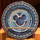 "Disney Parks Iconic Mickey Mouse Decorative Rim 7"" Desert Plate New"