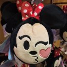Disney Parks Exclusive Disney Double Sided Emoji Face Plush Minnie Mouse New