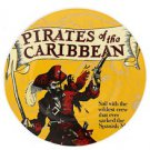 "Disney Parks Pirates of the Caribbean 7"" Classic Poster Ceramic Plate  New"