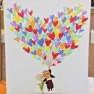 Disney WonderGround Carl & Ellie Up Love Adventure LE Canvas Print Nidhi Chanani