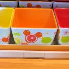 Disney Parks Exclusive Mickey Mouse Icon Citrus Appetizer Tray Set New with Box